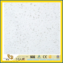 Man-Made Imitation Artificial Quartz Stone Tile for Flooring, Wall