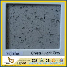Crystal Light Grey Caesarstone Quartz for Kitchen Countertop Design