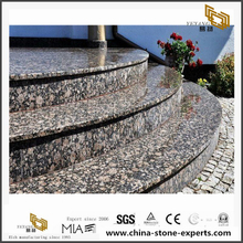 Extra Large Stone Baltic Brown Granite Stairs Tread Steps