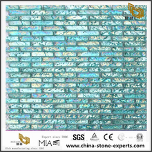 Clear Colorful Marble Glass Mosaic For Swimming Pool Or Bathroom