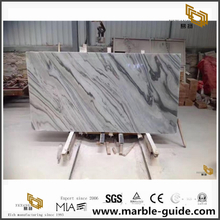 Wholesale Palissandro White Marble Slabs For Worktop Kitchen and Floor Tiles with High Quality