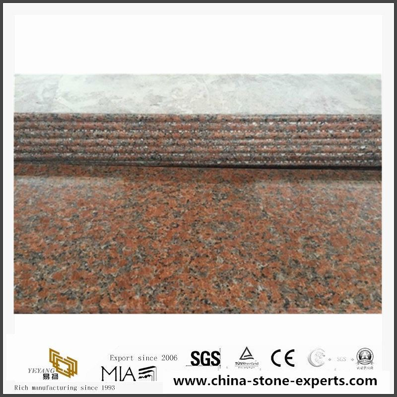 Cheap-China-Own-Factory-Red-Granite G562 Red Granite-for-Wall-Cladding-Tile