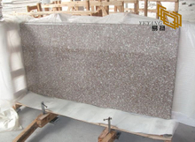 G648 Misty Mauve granite kitchen countertops for interior design (YQW-11016C)