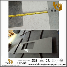 Bianco Drift Quartz Countertop(YQ-6131)