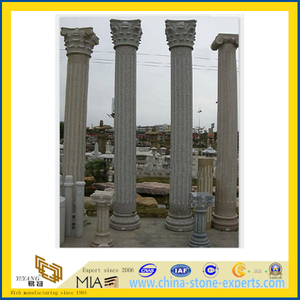 Natural Stone Roman Column for Construction(YQC)