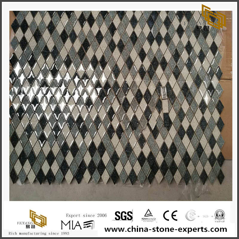 Upgrade Products Glazed Porcelain Ceramic Mosaic For Wordwide