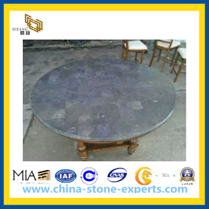 Blue Stone Slabs for Table Top(YQG-PV1024)