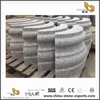 Solid Natural grey/white Granite columns For roman pillar designs
