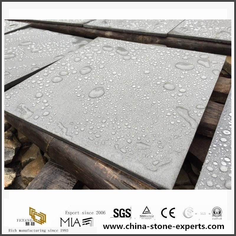Hainan Grey Basalt Basaltina Basalto Honed & Sealed Tiles