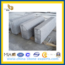 Flamed Light Grey Granite Kerbstone for Road (YQW-KS24510)