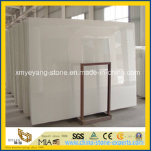 Thassos White Nano Crystallized Glass Stone for Decorative Material