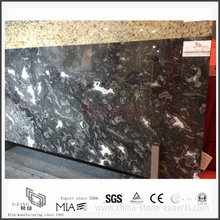 Diy New Black Storm Marble for Flooring or Wall Tiles (YQW-MS331202)
