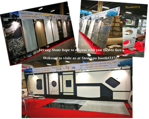 Stonexpo 2017 Booth #3371- china marble and countertops from Yeyang Stone Factory