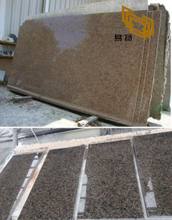 Tropic Brown Granite Slabs for Hotel Kitchen Countertops (YQW-11006G)