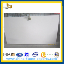 Pure White Quartz Artificial Stone Slab for Countertop (YYAZ)