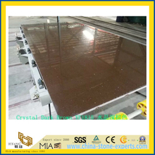Crystal Dark Brown Quartz Stone for Indoor Decoration