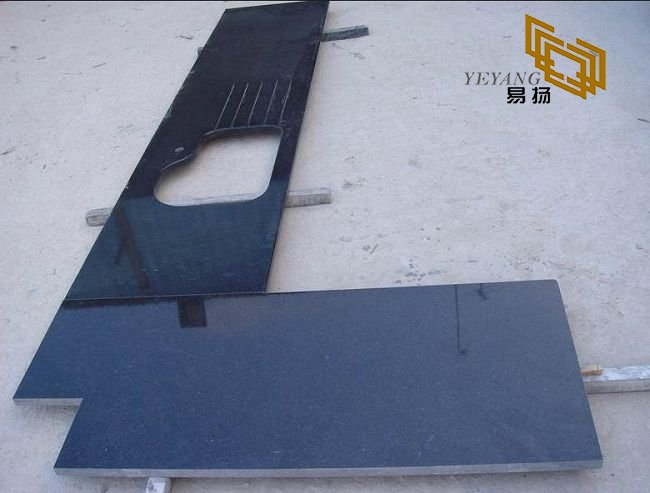 SHANXI Black / Premium Black Granite kitchen countertops for interior design (YQW-11017C)