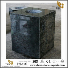 Tropical Green Granite Vase Tombstone Monument Memorials