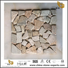 Indoor And Outdoor Rusty Slate Stone Mosaic Middle-Sized Tiles Hot Sale