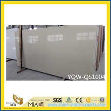 Light White Artificial Quartz Stone for Home & Hotel Countertops/Tiles