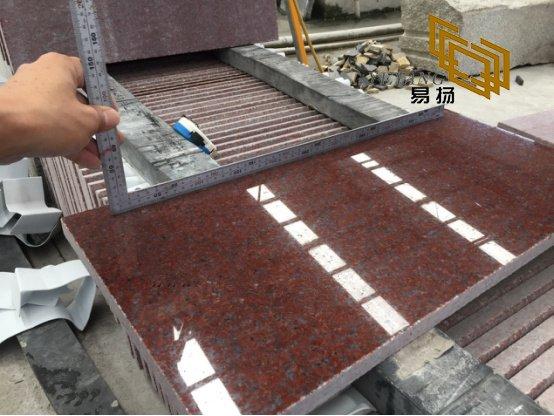 Indian Red Granite Slabs Tiles For