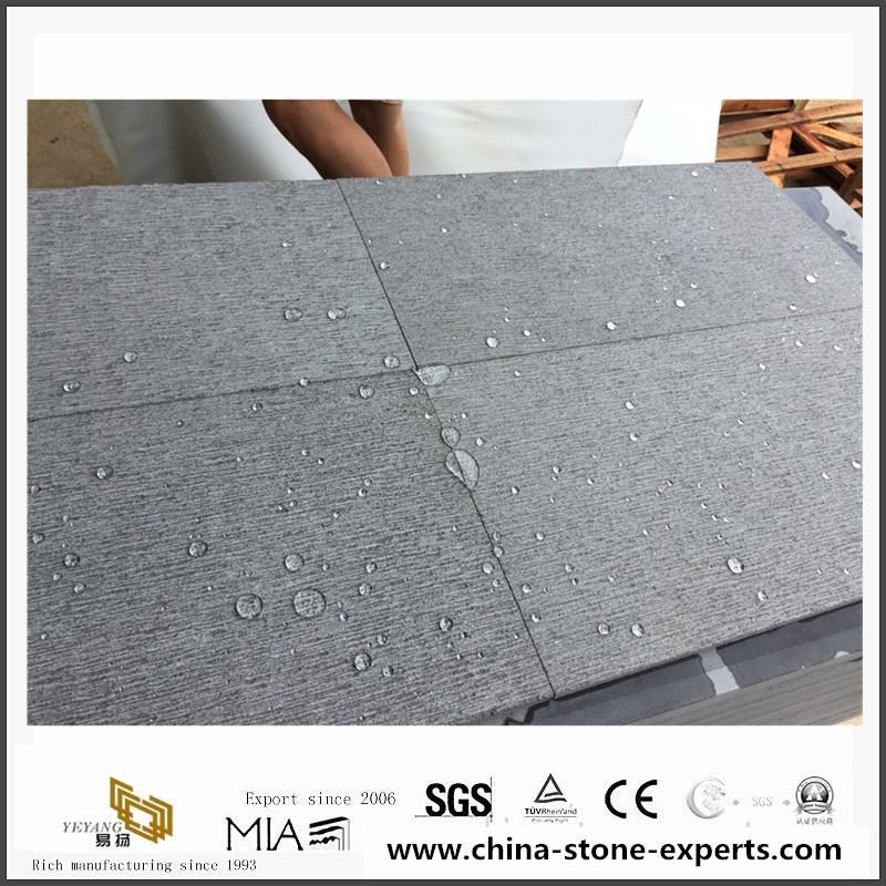 Hainan Grey Basalt Inca Grey Chiselled Tiles