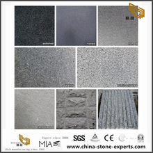 G654 Granite Flamed Surface Finish