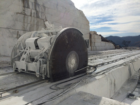 YEYANG Arabescato Venato White Marble Stone Quarry NO