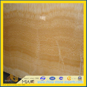 Yellow Honey Onyx Marble Tiles for / Wall / Flooring /Mosaic(YQT)
