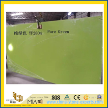 Pure Green Quartz Stone for Indoor Decoration