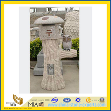 Granite Stone Carving - Post Box(YQC)