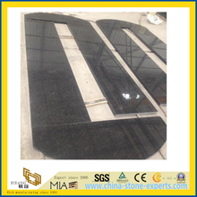 Polised Black Pearl Grantie Countertop for Bathroom