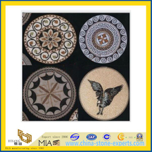Marble Mosaic Stone Medallion for Indoor Decoration