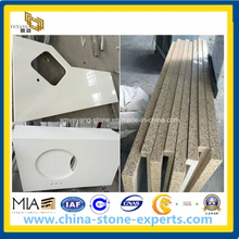 Solid Surface Artificial Quartz Stone Countertop for Kitchen (YYAZ)