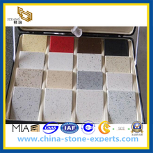 Diffrent Colors of Atficial Stone Quartz for Kitchen Decoration