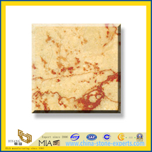 Polished Natural Stone Rosalia Marble Slabs for Wall/Flooring (YQC)