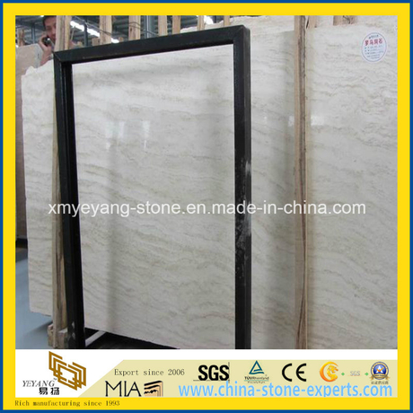 Roman Travertine Slab for Hotel Floor or Wall Tile