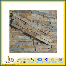 Natural Slate Cultured Stone Wall Cladding for Exterior Decorative (YQA-S1040)