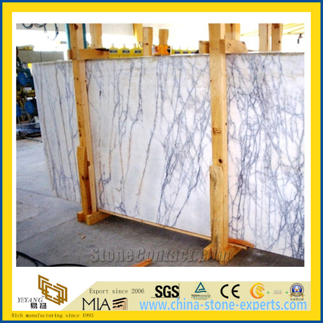 Cheap Polished Milas Lilac Marble Slabs for Countertop/Vanitytop/Flooring