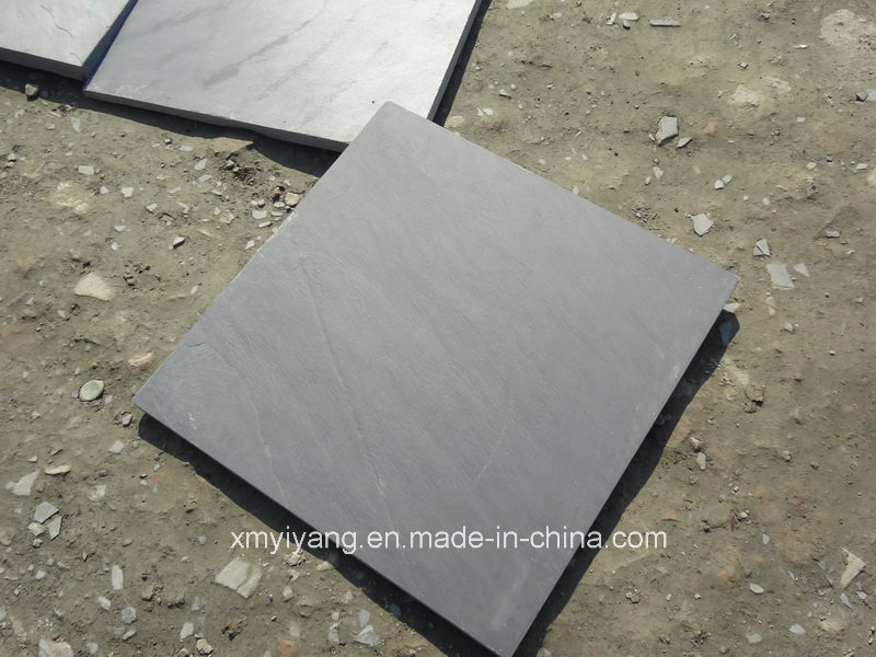 Natural Waterproof Black Slate for Roof, Wall, Floor (YY-ST5604)