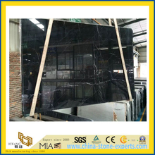 Nero Marquina Black Marble for Vanity Top, Flooring Tiles