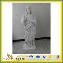 Marble Figure Sculpture, Statue of Jesus(YQG-LS1038)