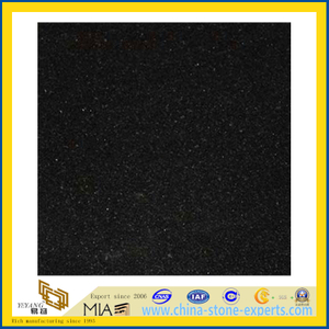 Polished ShanXi Black Slabs for Countertops (YQZ-G1044)