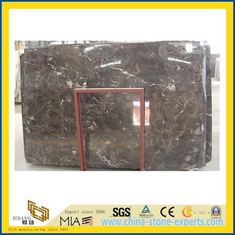 Chinese Dark Emperadar Marble for Flooring Decoration
