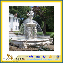 Granite Stone Carved Water Fountain for Outdoor Garden Decoration(YQC)