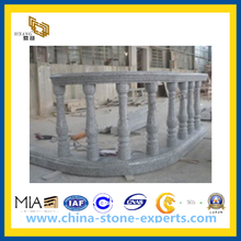 Outdoor Granite Round Balustrade for Staircase(YQG-PV1070)