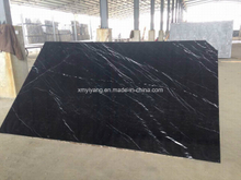 Cheapest Black Marble 2cm Slab $24.65 /M2 -15% Cheaper Than Nero Marquina