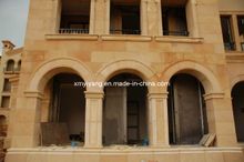 Beige Sandstone for Wall Cladding and Flooring