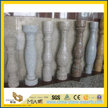 Various Color Chinese Granite Baluster / Stone Banister for Landscape Project