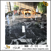 Black Royal Ballet Granite Tiles For Bathroom Floor